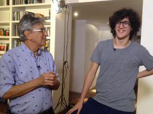 Caetano e Tom Veloso de malas prontas para Festival de MPB em Inhotim