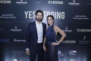 """Festa de lançamento da 5ª edição da """"Yes Wedding"""" com Fernanda Suplicy"""