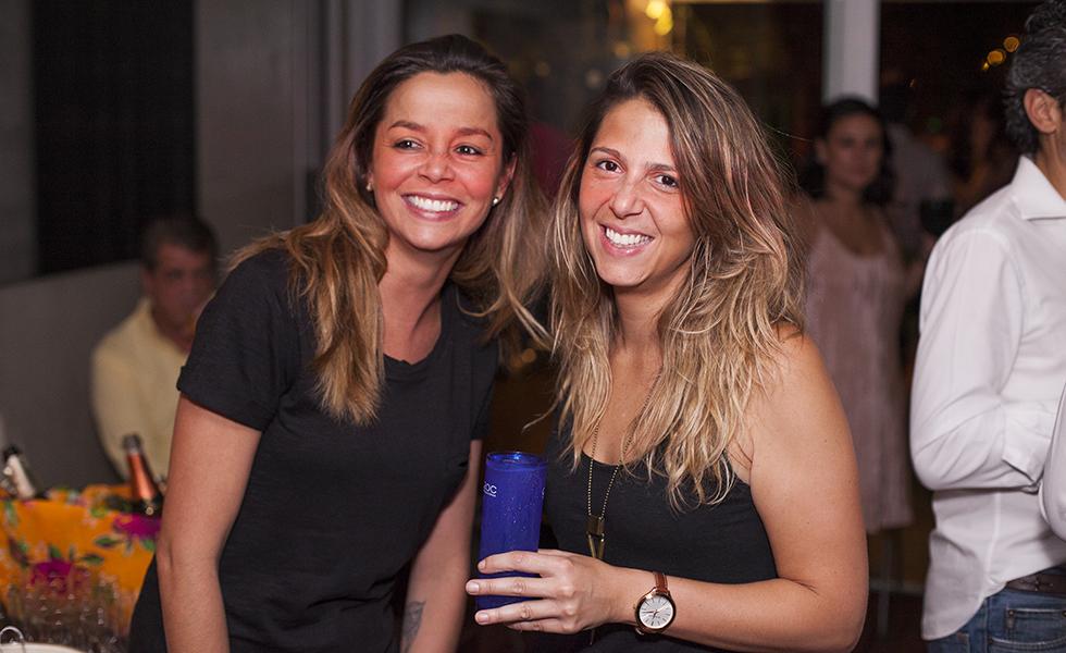 Gabriela Scalzo e Claudia Faria