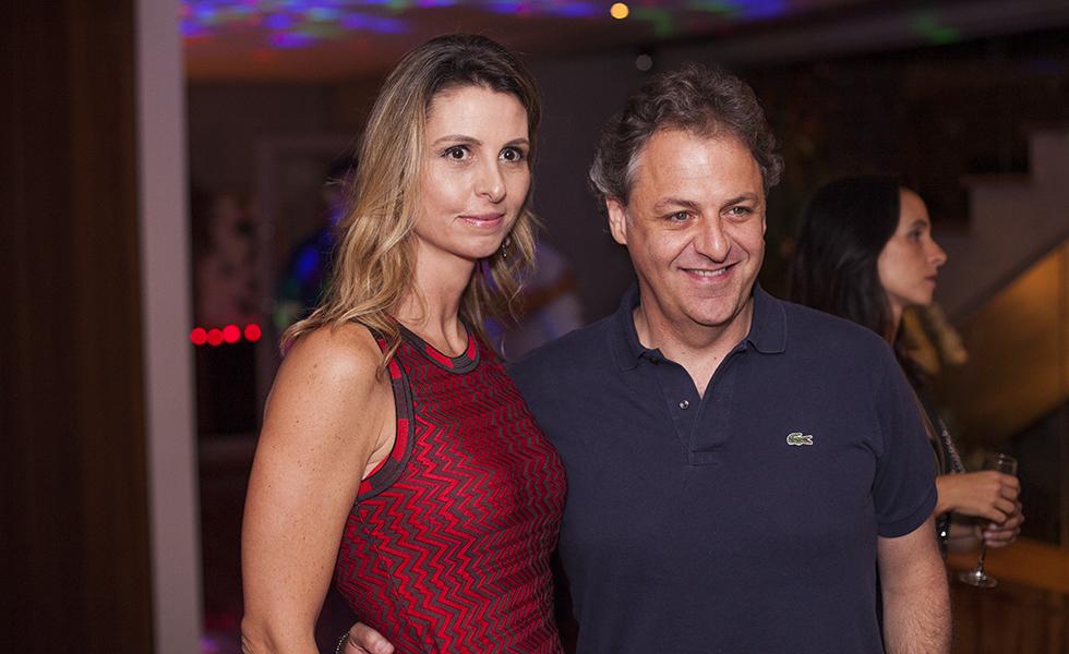 Jorge Crede e Alessandra Jacob