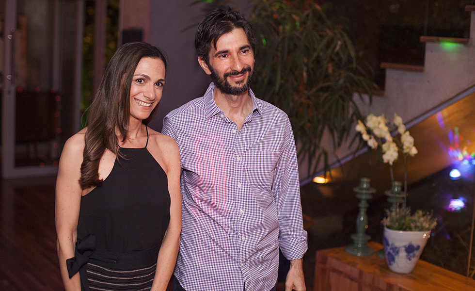 Antonella Salem e Sergio Penteado
