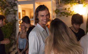 Pedro Braun comemorou aniversário entre amigos no Jardim Europa