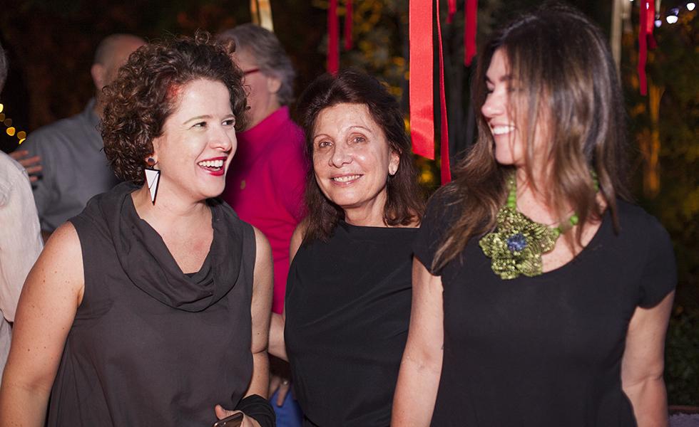 Ana França Pinto, Luciana Teperman e Marina Machado