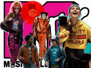 Referências dos anos 1980 vão dominar a moda em 2017