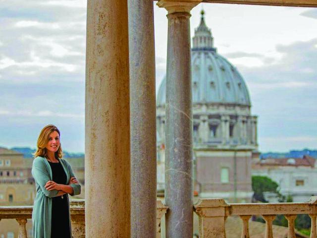 Barbara Jatta || Créditos: Musei Vaticani/Divulgação