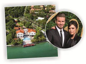 Casal Beckham será vizinho de Xuxa em ilha deluxe de Miami