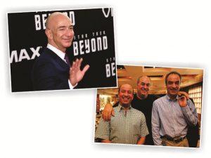 Jeff Bezos foi quem mais ganhou dinheiro no mundo em 2016. Já no Brasil…