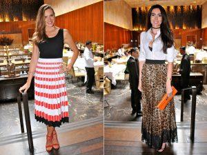 Alerta fashion! As saias dominam as escolhas das bem vestidas da semana