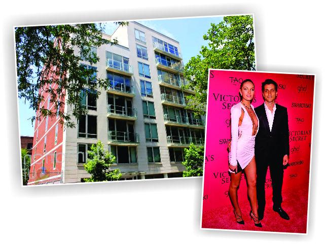 Candice Swanepoel e Herrmann Nicoli, e o prédio onde fica o apartamento || Créditos: Getty Images/Divulgação