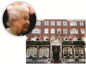 Bêbado interrompe almoço de fim de ano de Elizabeth II e seus assessores