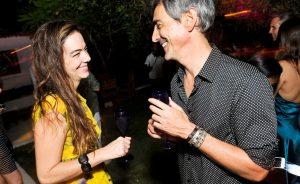 Joana Vieira abre sua casa no Quadrado com champagne Taittinger para brinde especial
