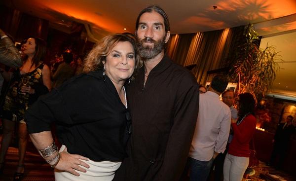 Joyce Pascowitch e Felipe Veloso