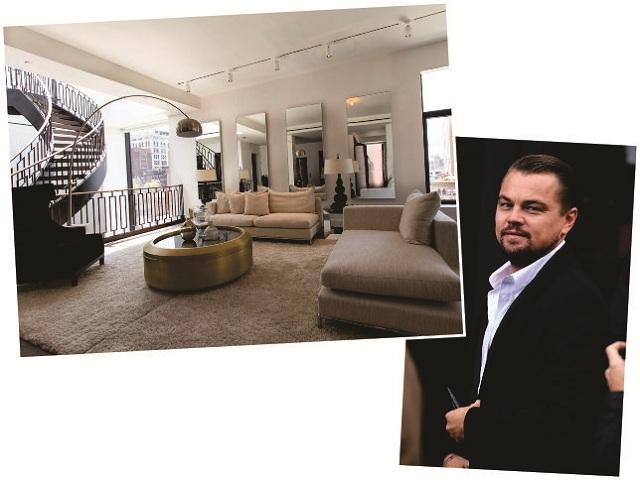 Leo e a sala do apartamento