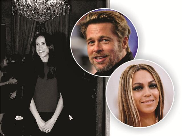 Meghan Markle, Brad Pitt e Beyoncé || Créditos: Getty Images