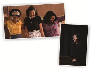 "Michelle Obama recebe elenco de ""Estrelas Além do Tempo"""
