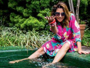 Revista J.P montou a pool party mais cool da temporada. Vem dar um mergulho!