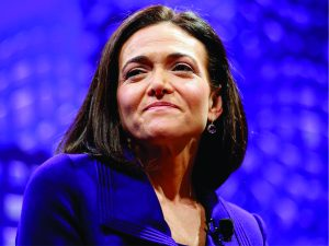 Braço direito de Zuckerberg, Sheryl Sandberg faz doação de US$ 100 mi