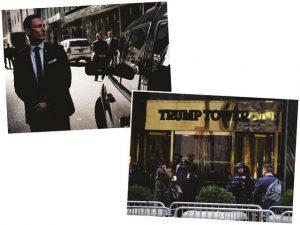 Por causa de Trump, Quinta Avenida já é o ponto mais seguro de Nova York