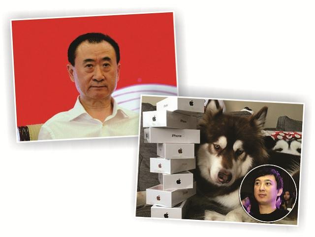 Jianlin, Sicong e seu cachorro