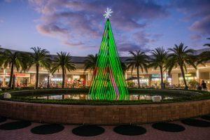 Árvore de Natal interativa? Catarina Fashion Outlet arma brincadeira com luzes