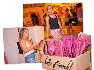 Flip flop Santa Lolla é hit entre as produções de praia