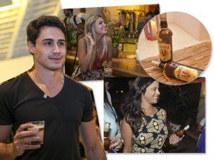 Momento Amarula teve presente para os convidados da Casa Glamurama Trancoso