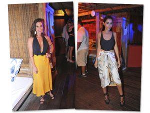 Combo body + saia é destaque na festa do Glamurama em Trancoso