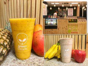 Greenpeople inaugura primeiro juice bar com opções de sucos personalizados