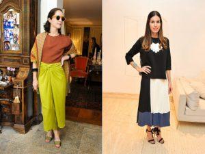 Pontos de cor dão o tom das produções das bem vestidas da semana