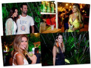 Cachaça Premium Leblon animou a festa Saravá. Vem…