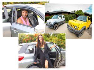 Suzuki da carona para a turma de convidados da MillerHouse Trancoso