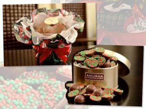 Anusha Chocolates apresenta linha especial de Natal com delícias mil