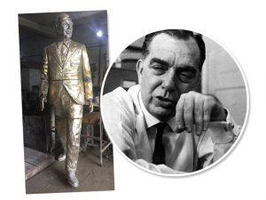 Depois de Cazuza, Rio de Janeiro ganha estátua de Nelson Rodrigues