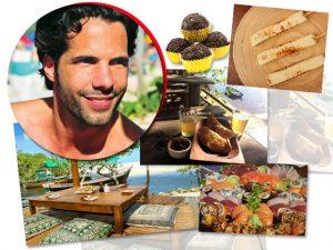 Na mesa ou à beira da praia, Tato Malzoni entrega como comer bem em Trancoso