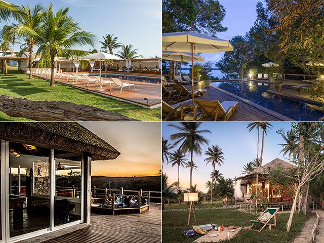 Destinos incríveis pelo Brasil: Hotel Fazenda São Francisco do Corumbau Créditos: Divulgação