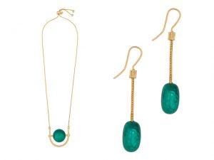 Acessórios da FIT feitos de resina verde esmeralda são opções para o Natal