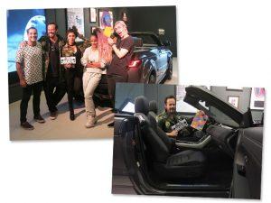 Pop up store da Jaguar Land Rover recebe doações para o projeto Neuronha