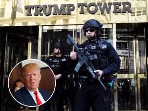 Esquema de segurança da Trump Tower em NY atrapalha comércio local
