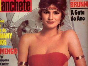 Luiza Brunet relembra clique em capa de revista de 30 anos atrás