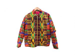 Desejo do Dia: charme afro ganha o streetwear com a jaqueta OKAN
