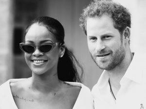 Rihanna e príncipe Harry se encontram em Barbados e a internet entra em polvorosa