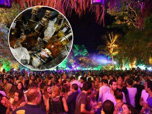 Saravá, a festa mais brasileira de Trancoso, vai ter cervejas Miller iluminadas