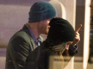 Confira a primeira foto do príncipe Harry e Meghan Markle juntos