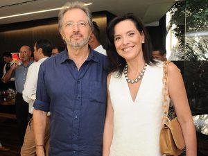 Andrea Pinheiro e Newton Simões armam almoço em Trancoso
