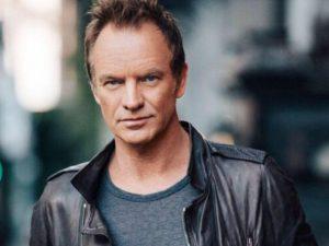 Sting volta ao Brasil para apresentação única em 2017