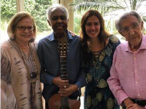 Gilberto Gil canta na festa em torno dos 100 anos de Jacintho Onório