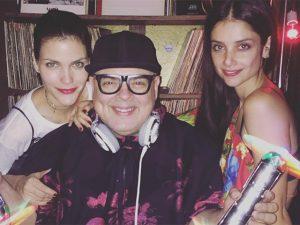 Luciana Curtis comemora 40 anos em NY com pista fervida do DJ Zé Pedro