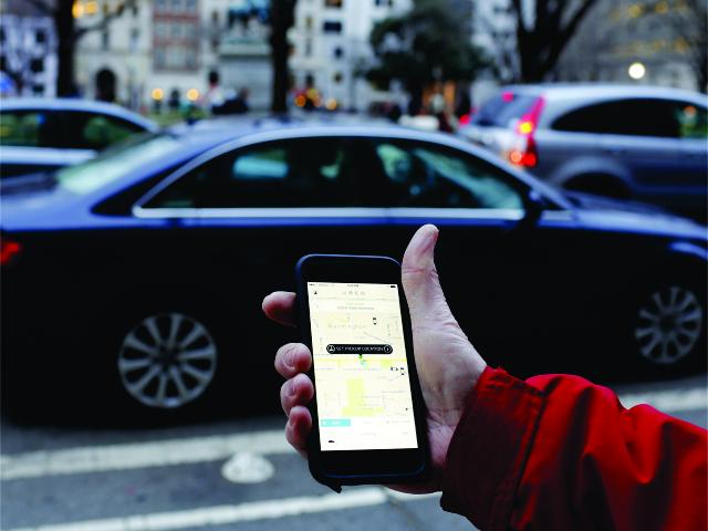 Uber: sucesso em São Paulo || Créditos: Getty Images