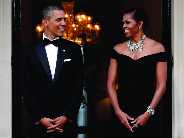 O casal Obama || Créditos: Getty Images