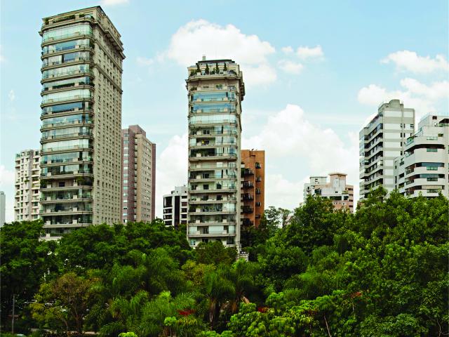 A Praça Pereira Coutinho, na Vila Nova Conceição || Créditos: Reprodução